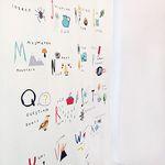 Multi alphabet Curtain