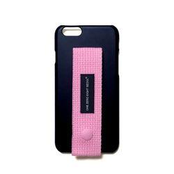 행온 핸드폰케이스 H14 (핑크) 블랙