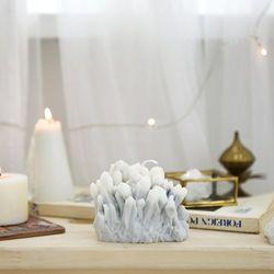 gemstone candle - smoky quartz