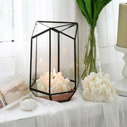 gemstone candle - clear quartz