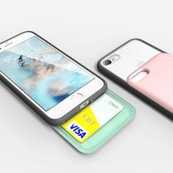 모토모 SLIDE CARD iPhone 7 Case