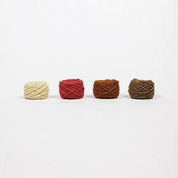 양모사 4종세트 RED