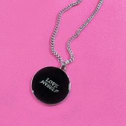 NECKLACE BLACK WTG