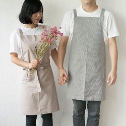 코코리코 보떼봉봉 앞치마 long apron 2color