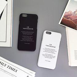 LE VOYAGEUR - iPhone6 case