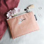태슬포함 D.LAB NY Pouch - 벚꽃나무 PINK_b