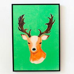 My Reindeer A3 포스터액자