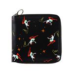 Circus Girls Wallet (Black)