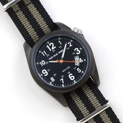 NaturalPark Camper with nato strap NP1325-AB-NTH