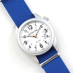 NaturalPark Camper with nato strap NP1325-WH-NTK