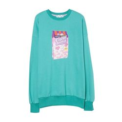 Circus Animal Sweat Shirt (Emerald green)