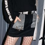 [WOMEN] Corduroy Skirt (BLACK)