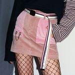 [WOMEN] Corduroy Skirt (PINK)