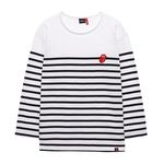 THE ROLLING STONES VINTAGE TONGUE BORDER TEE WH