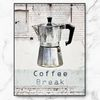 북유럽 인테리어 액자 커피 브레이크 포스터 중형