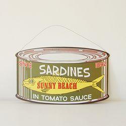 인테리어 틴보드-SARDINES CAN