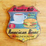 인테리어 틴보드-Route 66 Diner