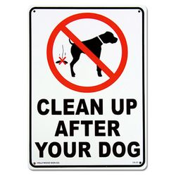 인테리어 사인보드-CLEAN UP DOG