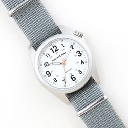 NaturalPark Camper with nato strap NP1312-WH-NTB