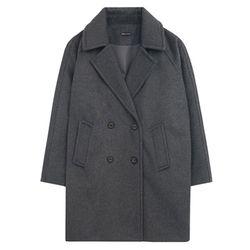 Premium Over Coat (dark gray)