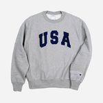 Champion USA Reverse Weave Crewneck USA