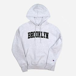 Champion USA Reverse Weave Pullover BROOKLYN ash