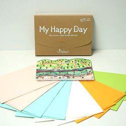 컴패션 My Happy Day 어린이그림카드SET