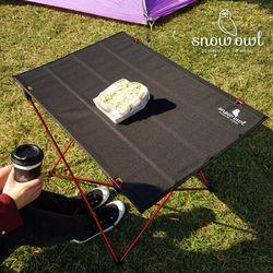 스노우아울 캠핑 초경량 폴딩 롤 테이블 소형