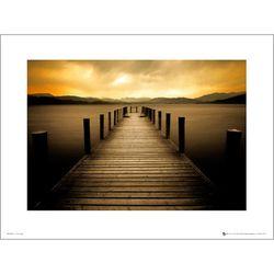 PDH01147 Sunset Pier 부두 일몰 (40x50cm)