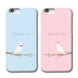 비둘기 커플 핸드폰케이스 주문제작 아이템 이니셜