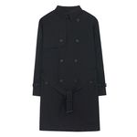 Classic Over Trench Coat (black)
