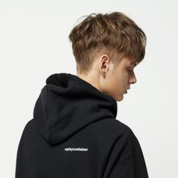 replaycontainer hoody black(기모)