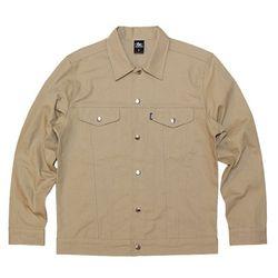 락싸이코 트러커 면 자켓베이지  락사이코 봄 자켓