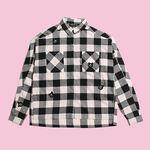 [Holiday Collection] BEAR CHECK SHIRT