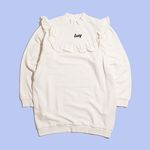 [Holiday Collection] LAZY FRILL SWEATSHIRT
