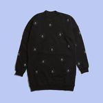 [Holiday Collection] FUR BEAR BLACK SWEATSHIRT