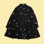 [Holiday Collection] BIG DOT SHIRT DRESS