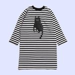 [Holiday Collection] STRIPEY CAT DRESS