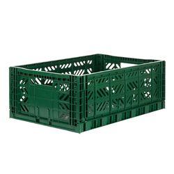 폴딩박스 L dark green_Passive Lock 22cm