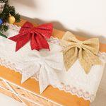 글리터리본 17cm 크리스마스장식소품