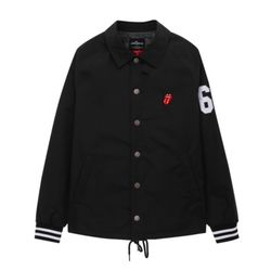 THE ROLLING STONES IORR COACH JACKET BK