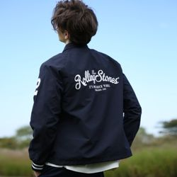 THE ROLLING STONES IORR COACH JACKET NA
