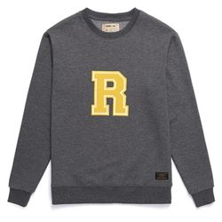 [라지크] RAZK - R Big Logo Crewneck (CHARCOAL)