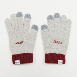 23250 message gloves [Light gray]