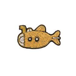 마콩 자수브로치_잠수함
