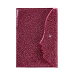 FUNNY FACE PASSPORT CASE (PINK)