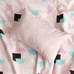 하프하프(핑크)-ReFresh 키즈베개커버