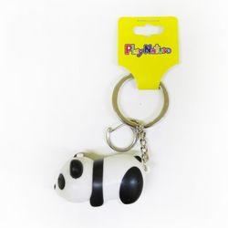 사운드 LED 열쇠고리&커플키링 팬더