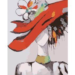 DIY명화그리기 - 빨간모자의 여인 물감2배/컬러캔버스