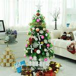 [행복한세상]크리스마스트리 파인콘결정체솔트리140cm